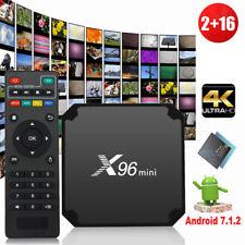 X96 Mini 4K Android 7.1 Media Player WiFi TV Box KODI 18.0 2G/16G S905W CA Stock