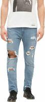 Diesel Men`s Jeans Size 29 DEEP ZIP W29 L32 Slim-Carrot