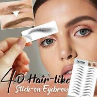 Authentisch 4D Hair-like Eyebrow Falsche Augenbrauen Aufkleber für Augenbrauen
