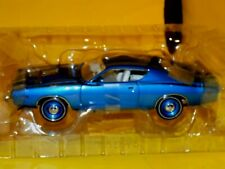 1971 Dodge Charger Superbee BRIGHT BLUE AMERICAN MUSCLE 39466 1:18