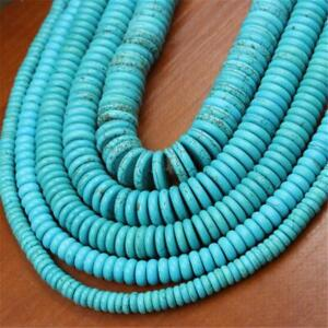 1pcs 10mm Turquoise Wafer loosebeads 15 inches pray Wristband Healing Lucky
