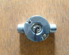 NEW Vintage toggle Industrial Cast metal lightswitch BSEN approved 20mm conduit