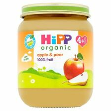 HiPP Stage 1 From 4 Months Apple and Pear Pudding, 125g (Pack of 6)