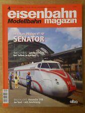 eisenbahn Modellbahn magazin Nr.4 April 2013