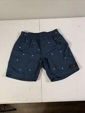 "New listing BARNEY COOLS Blue Swim Trunks B. Cools Board Shorts Men's 30 X 7"" Inseam"