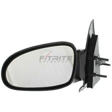 New Left Side Power Door Mirror Gloss Black For 1996-2002 Saturn SL GM1320207