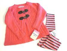 Oshkosh Girl Cardigan Sweater Pants Lot Size 2T