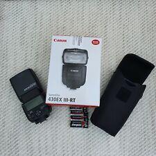Canon Speedlite 430EX III-RT Flash. New. Unused. Perfect condition.
