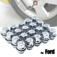 For Ford Focus 20 X Alloy Wheel Nuts Bolt Lug Stud Tyre Whorl Nuts With Washer