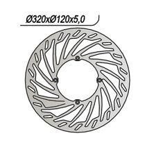 DISCO FRENO NG 827 TURBINE 320-135-120-5-4 HUSQVARNA 610 SM S / IE 2000-2010