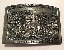 John Studebaker Blacksmith First Shop - Limited Edition Metal Belt Buckle #297