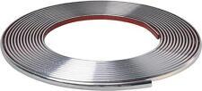Corpo cromato 128/13mm Porta Paraurti Protezione Moulding Strip 2/17m