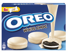 OREO WHITE CHOCOLATE COOKIES COVERED WITH WHITE CHOCOLATE 246g