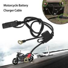 Motorcycle Battery Terminal Ring Connector Harness 12V Charger Y Adapter Cable
