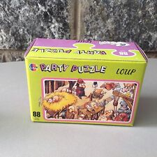 Vintage 80S#party puzzle  Heye  LOUP  88 Pz.  Jigsaw#Nib