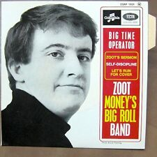 ZOOT MONEY'S BIG ROLL BAND Big Time Operator EP RARE FRENCH PS MINT/MINT!