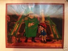pinochio  the emperor of the night part from the film animation cel