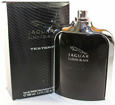 Jaguar Classic Black By Jaguar Tster 3.4/3.3 Oz Edt Spray For Men In Tster Box