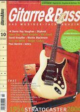 Gitarre und Bass # October 2004 -1954 STRATOCASTER 2004- Stevie Ray Vaughan,...