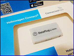 NEU Original VW DATA Plug Can Lesemodul Smartphone App Fahrtenbuch GPS Bluetooth