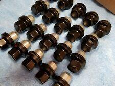 OEM Range Land Rover 20 Lug Nuts Black Factory 19 18 17 16 15 14 Evoque Velar