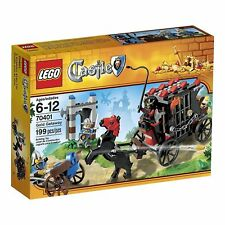 70401 GOLD GETAWAY lego castle knight NEW legos set knights retired