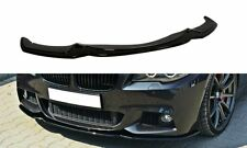 BMW F10 F11 M Sport Front Bumper lip spoiler chin Power skirt splitter valance 5