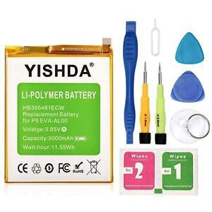 Australia YISHDA Honor 8 Battery, 3000mAh Replacement Huawei P9 HB366481ECW Batt