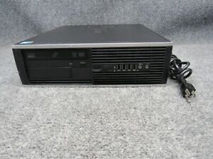 HP Compaq 8000 Elite SFF PC Intel Core 2 Quad Q9400 2.66GHz 4GB RAM 250GB HDD