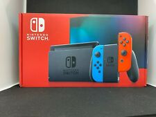 Nintendo Switch 32GB Neon Red/Neon Blue Console Joy-Con