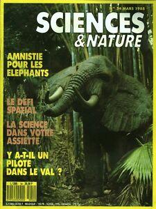 Revue sciences & nature No 54 Mars 1988