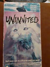 Uninvited VHS Rare Horror Big Box Slasher