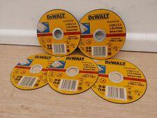 5 X DEWALT DT42340Z 125MM X 1.2MM INOX STAINLESS STEEL CUTTING GRINDER DISCS