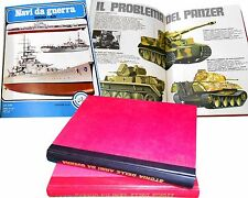 STORIA delle ARMI da GUERRA  12 volumi rilegati  ed. a.i.d. 1976
