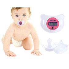 Digital LCD bébé Kid mannequin sucette soft tétine thermomètre température