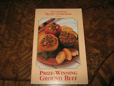 The Country Cooking Recipe Collection – Prize-Winning Ground Beef Booklet – PB