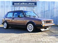 Aufkleber Zierstreifen Dekorstreifen schwarz VW Golf 1 I 2 GTI Jetta GLI Cabrio