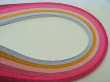 120 bandes de papier QUILLING 3mmx39cm 6 couleur MIX14 Loisirs créatifs DIY déco