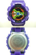 Casio G-SHOCK EVANGELION first model GA-110EV-6AJR Purple Analog wristwatch