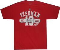 Steve Yzerman Detroit Red Wings Reebok 2009 Hall of Fame Shirt Clearance SMALL