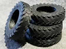 LMH Detail Part TRACTOR TIRE Tires USED Paddler R-1 Farm Ag O On3 On30 4 Piece