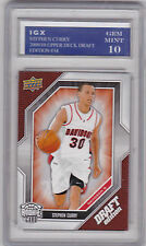 Stephen CURRY ROOKIE CARD 2009 UD Draft Edition GEM MINT 10 RC Basketball RARE!
