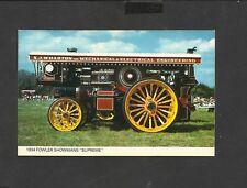 Colourmaster Postcard 1934 Fowler Showman's  Engine Supreme  unposted