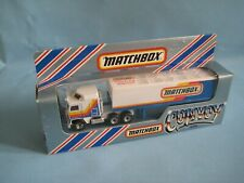 Matchbox Convoy CY-8 Kenworth Box This truck Delivers 1988 Boxed Toy Model 160