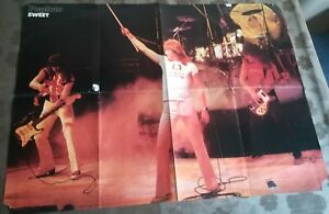 SWEET - Pat McGlynn (Bay City Rollers) - Popfoto Riesen Poster 70ziger JahreRAR