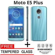 Motorola Moto E5 Plus GSM Unlocked + FREE Tempered Glass