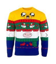 4XL Adventure Time Ugly Christmas Xmas Jumper Sweater by Numskull XXXXL