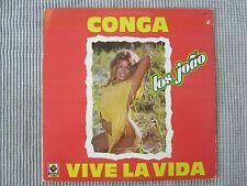 LOS JOAO ~ CONGA VIVE LA VIDA  VINYL RECORD Single (IMPORT MEXICO) / 1985 DISCO