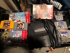 Bundle Nintendo 64 N64 Video Game Console/Cables / 8 Games / Game Boy Pak/ +