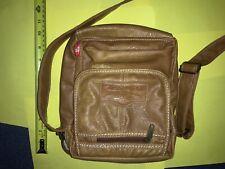 Diesel Messenger Shoulder Bag Faux Leather Black